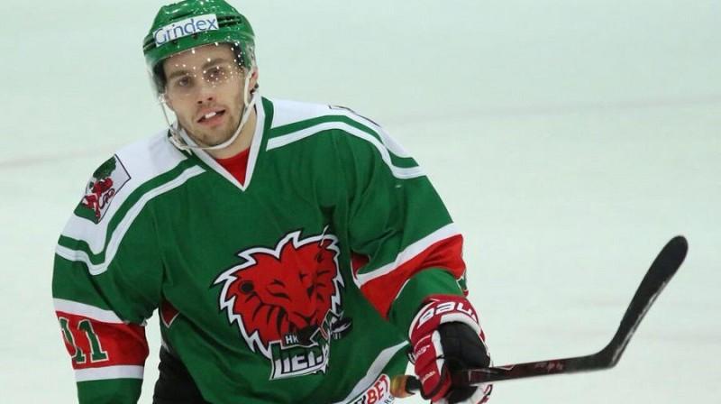 Liepājnieks Egils Kalns bija rezultatīvākais Latvijas izlases trijdienniekā Minskā.