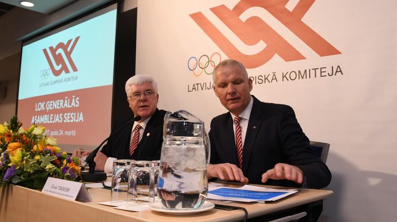 Aldons Vrubļevskis un Žoržs Tikmers  Foto: Romāns Kokšarovs, Sporta Avīze, f64