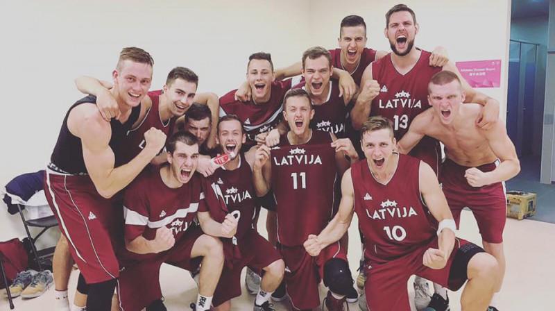 Latvijas studentu basketbola izlase