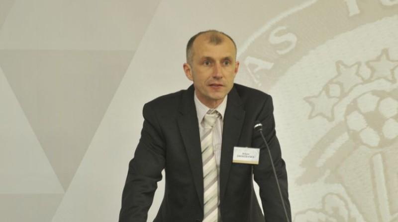 """Arturs Zakreševskis, JDFS """"Alberts"""" galvenais treneris Foto: Romāns Kokšarovs (f64)"""