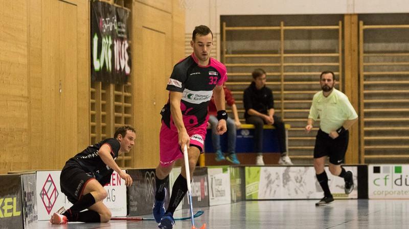 Andris Rajeckis Foto: Sandro Schmuki, Floorball Thurgau
