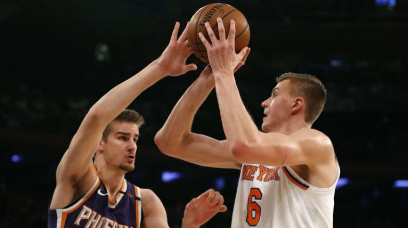 Dragans Benders un Kristaps Porziņģis