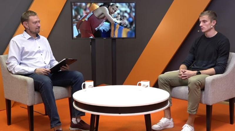 Jānis Freimanis un Jānis Leitis Foto: Ekrānuzņēmums