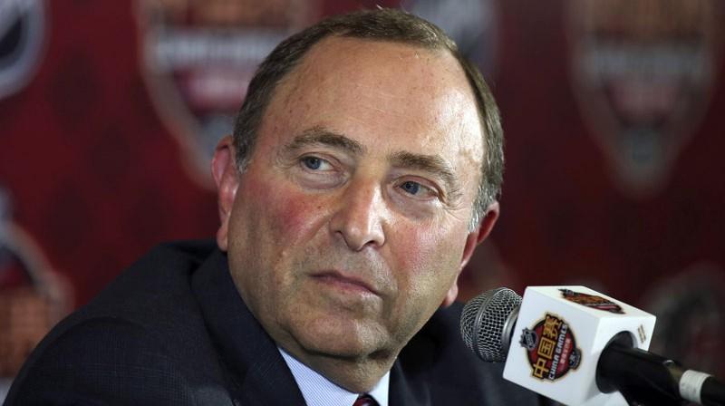 NHL komisārs Gerijs Betmens. Foto: AP/Scanpix