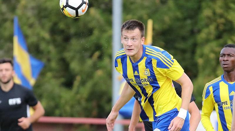 Vitālijs Jagodinskis; Foto: FK Ventspils