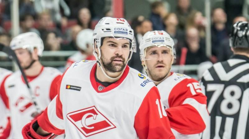 Kaspars Daugaviņš un Mārtiņš Karsums. Foto: Raimonds Volonts, dinamoriga.lv