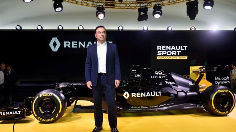 Karloss Gosns. Foto: Renault F1 Team