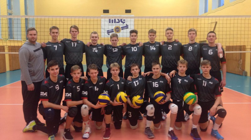 Murjāņu jaunā maiņa Foto: Latvijas Volejbola federācija