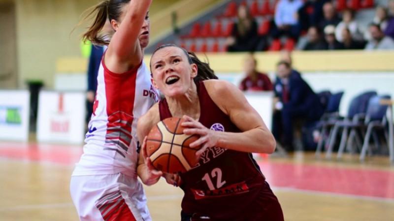 """Anete Šteinberga un """"Reyer Venezia"""": otrā vieta Eiropas kausa G grupā. Foto: FIBA"""
