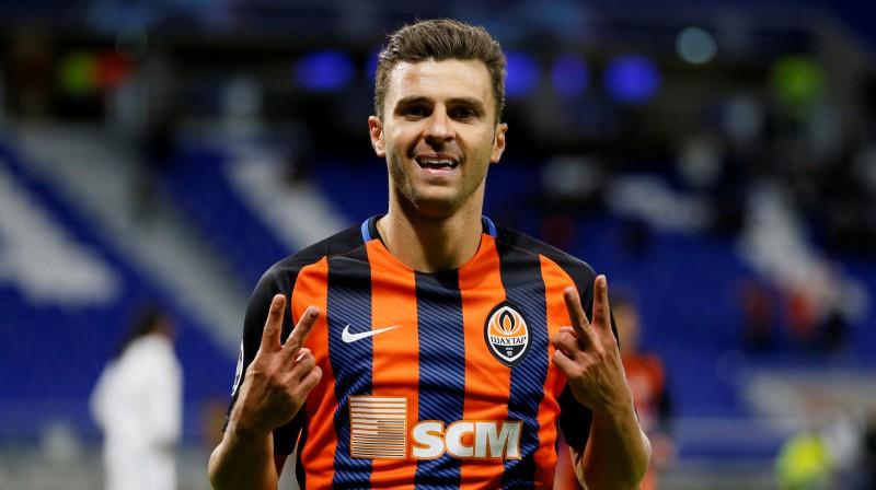 """Doneckas """"Shakhtar"""" spēlētājs Žuniors Moraišs. Foto: Reuters/Scanpix"""