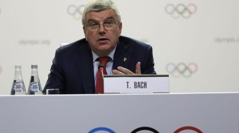 SOK prezidents Tomass Bahs. Foto: AP/Scanpix