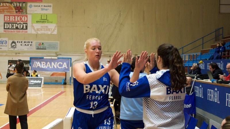 Marta Miščenko: no lietainās Galisijas uz saulaino Andalūziju. Foto: Universitario de Ferrol