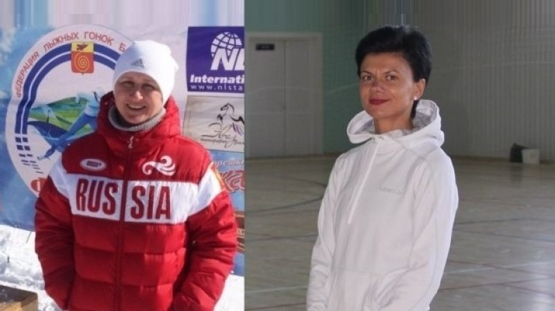 Olga Daņilova un Jekaterina Šagova. Foto: gazetanga.ru