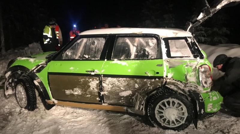 Auto pēc avārijas