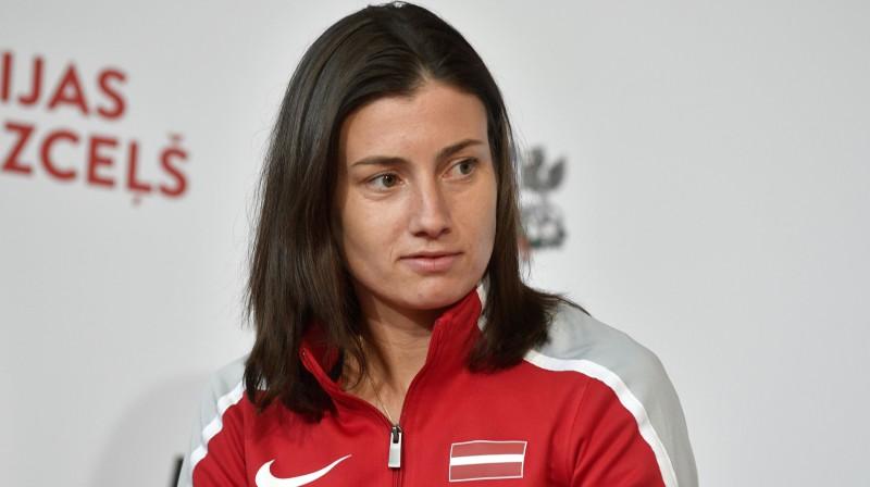 Anastasija Sevastova. Foto: Romāns Kokšarovs/F64