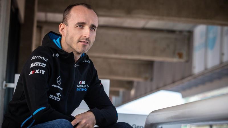 Roberts Kubica. Foto: ROKiT Williams Racing