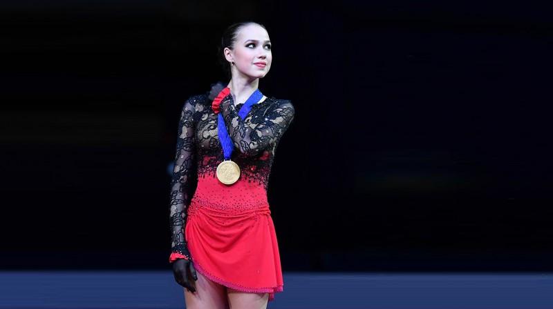 Alīna Zagitova. Foto: Aleksandrs Viļfs, sport.ria.ru