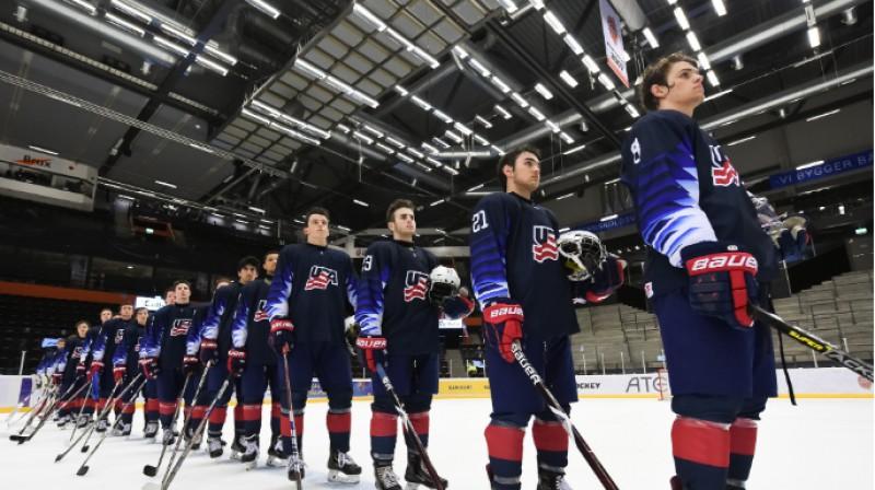 ASV U18 izlase. Foto: IIHF.com