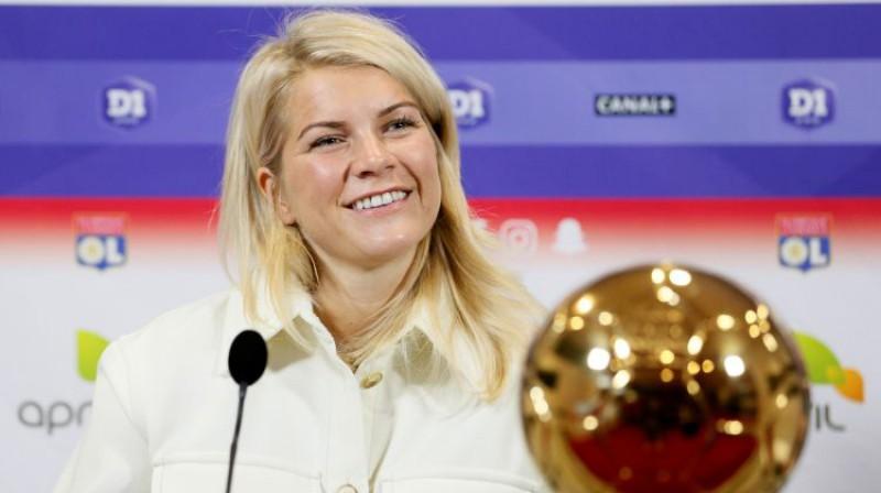 Ada Hegerberga. Foto: Reuters/Scanpix