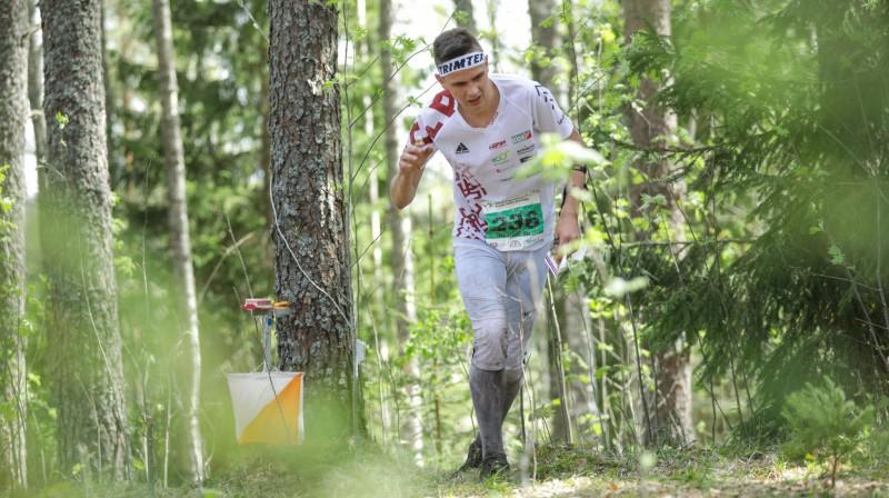 Dāvis Šolmanis. Foto: Latvijas Orientēšanās federācija