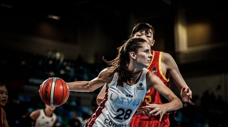 Kristīne Vītola: atgriešanās Spānijas labākajā klubā. Foto: FIBA