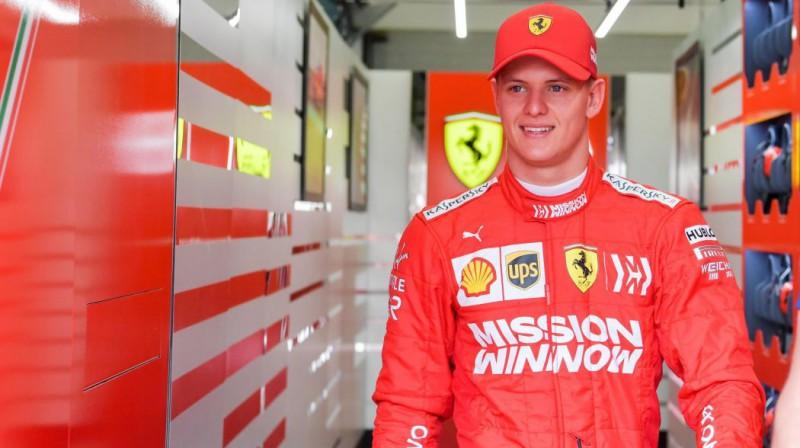 Miks Šūmahers. Foto: Scuderia Ferrari