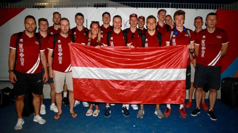 Latvijas studentu basketbola izlase. Foto: Latvijas Augstskolu sporta savienība