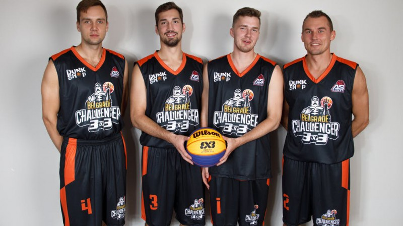 """""""Ventspils Ghetto"""" kvartets. Foto: FIBA"""