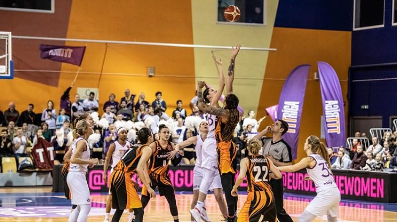 TTT un UGMK martā tikās Eirolīgas ceturtdaļfinālā. Foto: FIBA