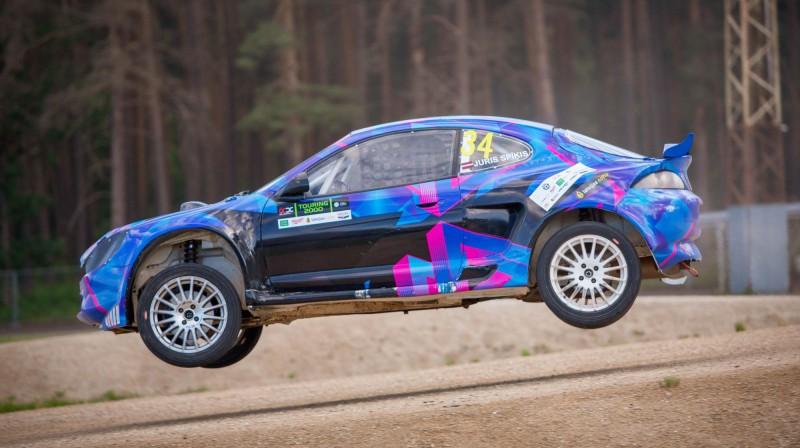 Juris Spīķis. Foto: Rallycross.lv