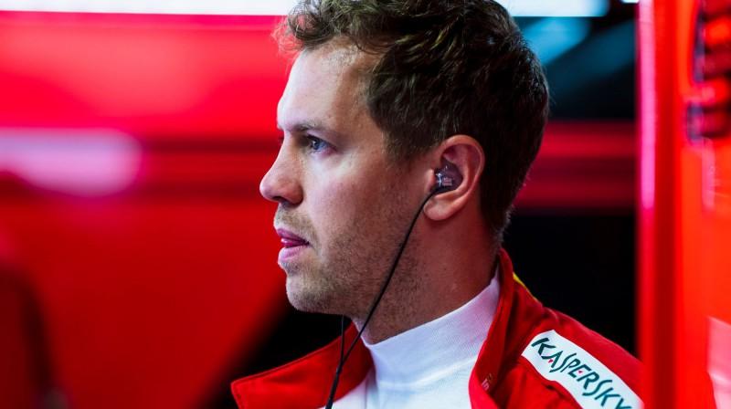 Sebastians Fetels. Foto: Scuderia Ferrari