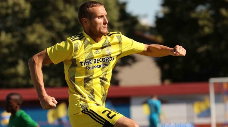 Daniils Ulimbaševs. Foto: FK Ventspils