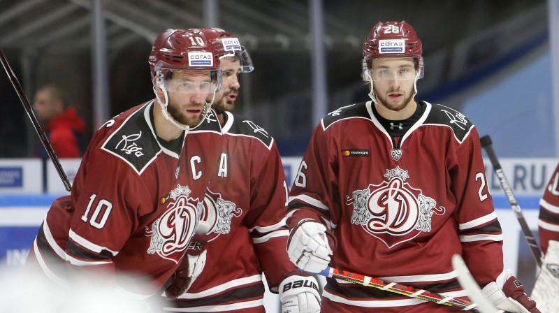 Lauris Dārziņš, Miķelis Rēdlihs un Uvis Balinskis. Foto: Oksana Džadana, F64