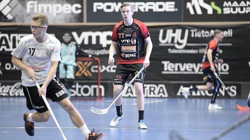 Jānis Ragovskis (#17) Foto: Esa Jokinen
