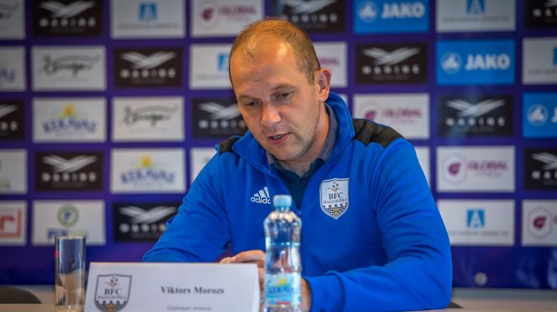 Viktors Morozs. Foto Zigismunds Zālmanis, rigafc.lv