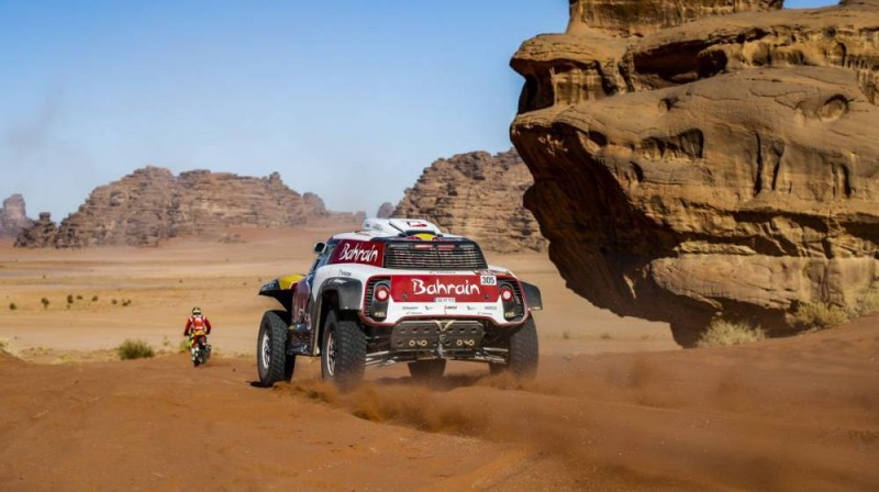 Karloss Sainss. Foto: Dakar.com