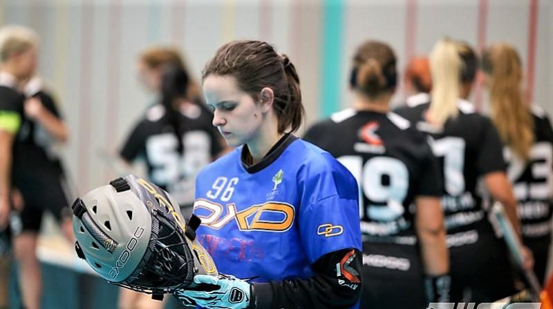 Sintija Bāliņa (Rubene). Foto: Ritvars Raits, floorball.lv