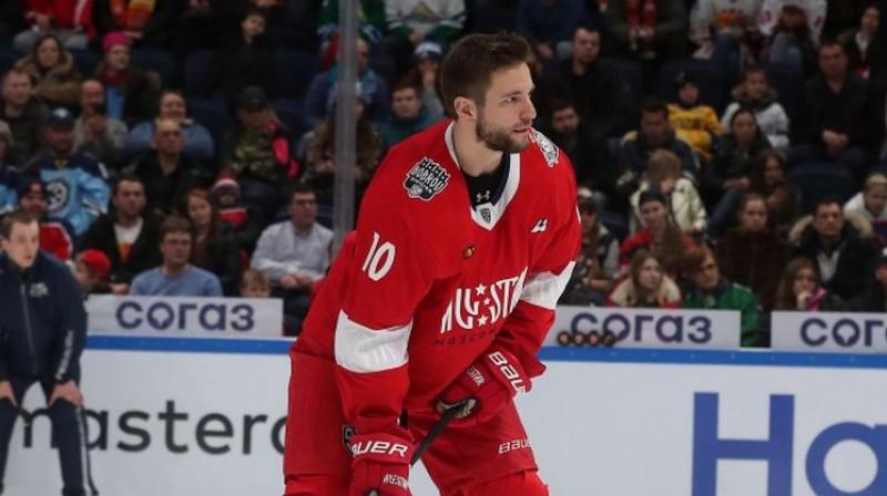 Lauris Dārziņš. Foto: Dinamo Rīga