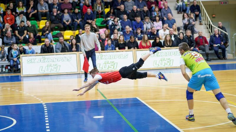 Dāvis Melnis. Foto: Latvijas Volejbola federācija