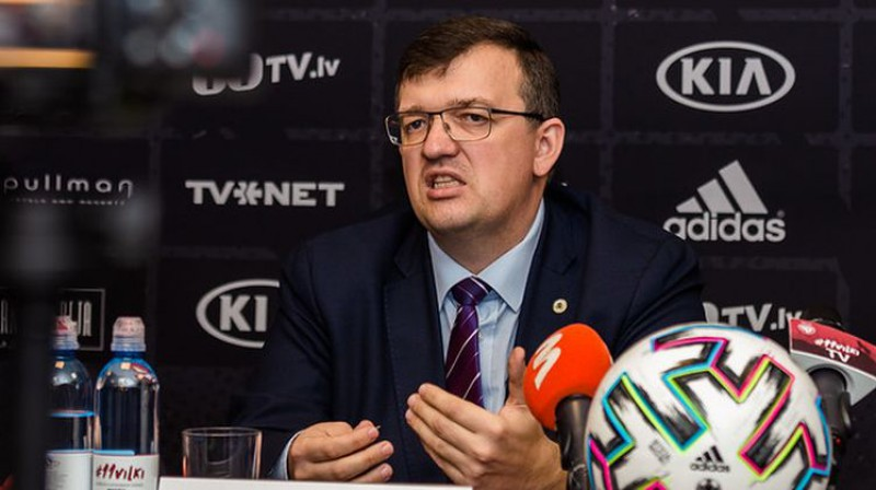 Dainis Kazakevičs. Foto: LFF