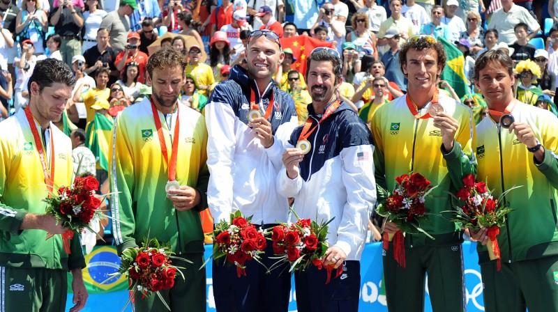 Fils Dalhauzers un Tods Rodžers triumfēja 2008. gada olimpiskajās spēles. Foto: FIVB