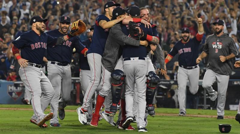 "Bostonas ""Red Sox"". Foto: Jayne Kamin-Oncea-USA TODAY Sports/Scanpix"