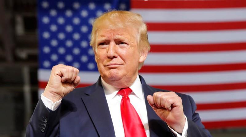 Donalds Tramps. Foto: AP/Scanpix