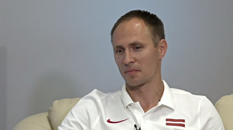 Dmitrijs Miļkevičs. Foto: Sportacentrs.com TV