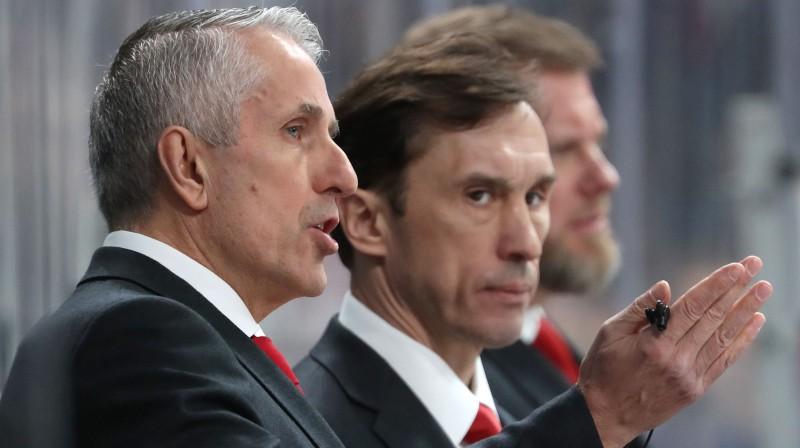 Bobs Hārtlijs un Vjačeslavs Kozlovs. Foto: Tass/Scanpix