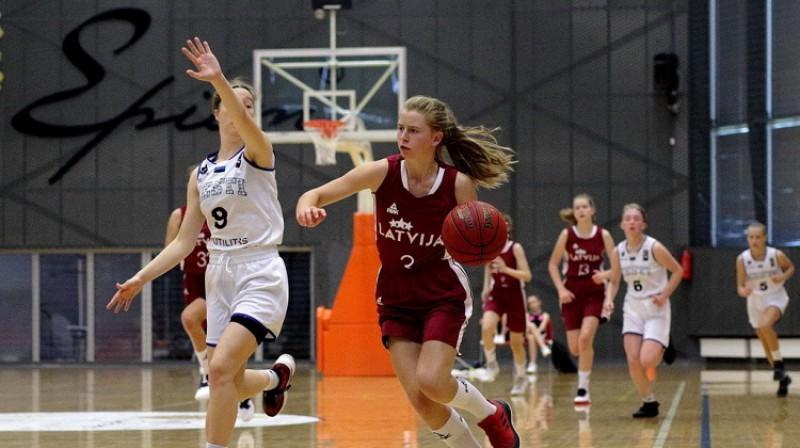 Elīna Briede. Foto: Siim Semiskar, basket.ee