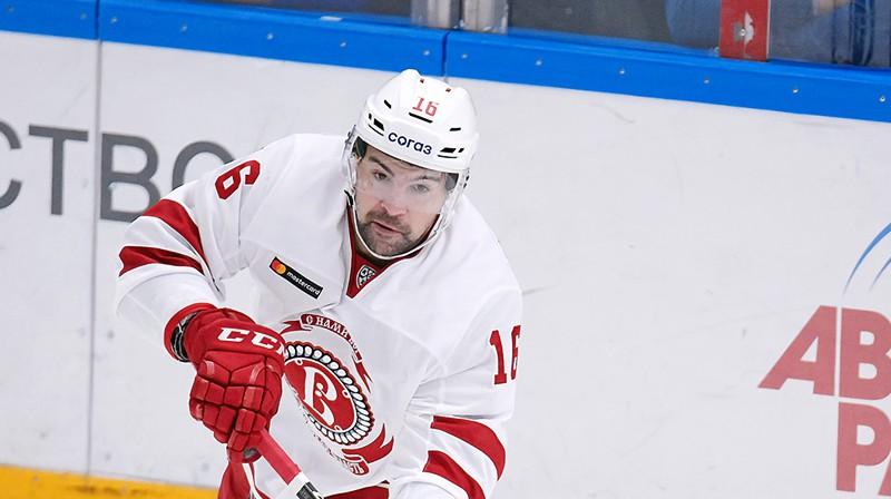 Kaspars Daugaviņš. Foto: HC Vityaz