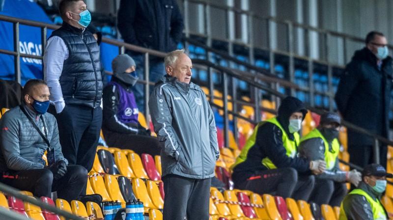 """""""Riga"""" pagaidu galvenais treneris Mihails Koņevs. Foto: Zigismunds Zālmanis/Riga FC"""