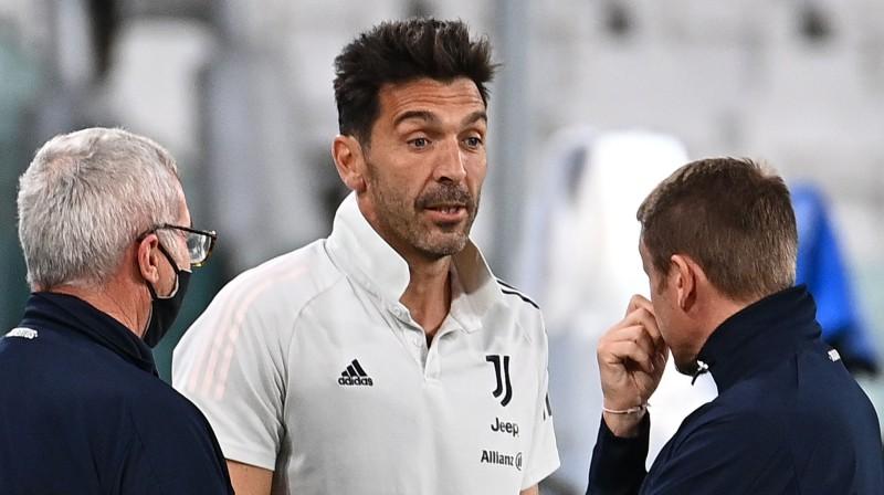 """Turīnas """"Juventus"""" veterāns Džanluidži Bufons. Foto: Reuters/Scanpix"""