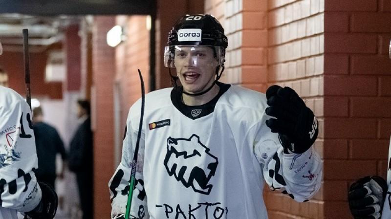 Lourenss Piluts. Foto: Pāvels Tabarčuks, KHL